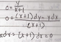 Differential Equation Example 3